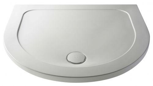 Hudson Reed 1050mm D-Shape Shower Tray (NTP095) - 17259