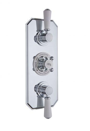 Hudson Reed White Topaz Triple Thermostatic Shower Valve TSVT003 (15588)