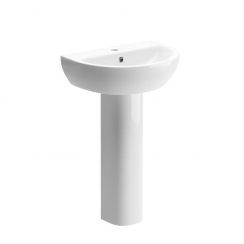 Moods Bathrooms to Love Tuscany Basin with Full Pedestal (14359)