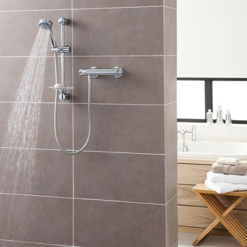 Triton Dene Hi-Flo Bar Mixer Shower (19403)
