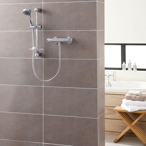 Triton Dene Cool Touch Bar Mixer Shower (19402)