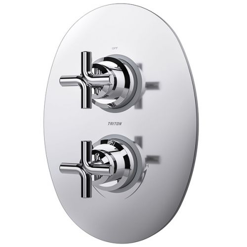 Triton Kensey Dual Control Mixer Shower with Single Outlet (19423)