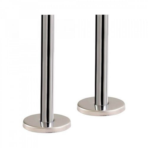 300mm Pipe and Base Covers - Chrome - 10624