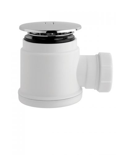 Eliseo Ricci 50mm Chrome Easy Clean Shower Trap - 7724
