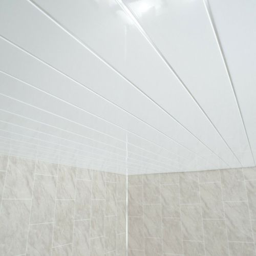 Lusso Panel Essentials White Embedded 4m Ceiling Panel - 5 Pack (19557)