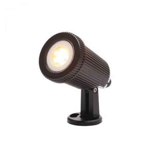 Forum Coast CZ-31806-BLK Wells Single Outdoor Ground LED Light - Black (18352)