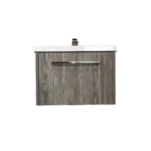 Josef Martin Avante 600mm Wall Mounted Vanity Unit & Basin - Everest Oak (19157)