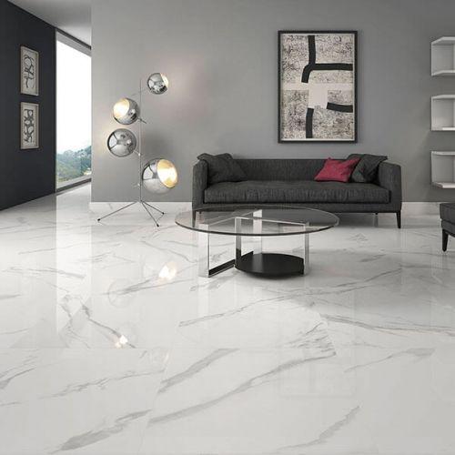White Soul 60 x 60 Porcelain Tile - 1.08sqm perbox (17423)