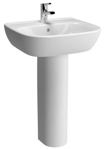 Vitra S20 60cm Basin with Full Pedestal (14756)