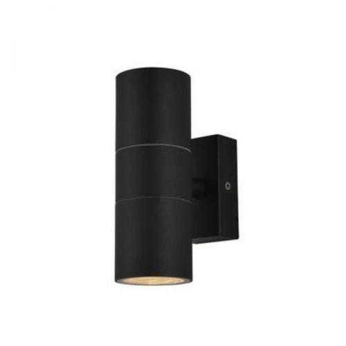 Forum Zinc ZN-20941-BLK Leto Up/Down Wall Light - Black (20573)