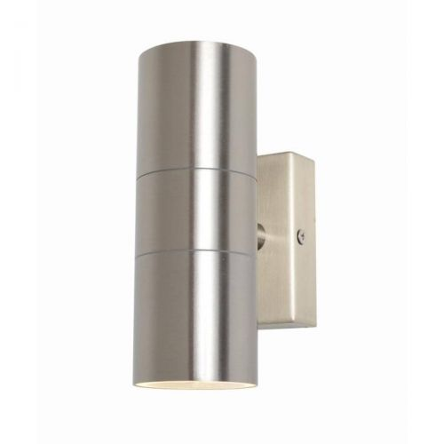 Forum Zinc ZN-20941-SST Leto Up/Down Wall Light - Stainless Steel (20572)