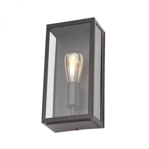 Forum Zinc ZN-20944-ANTH Minerva Metal Box Outdoor Wall Light - Anthracite (20571)