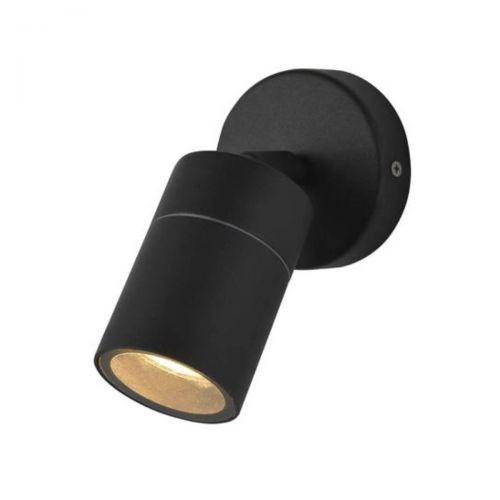 Forum Zinc ZN-26536-BLK Leto Single Up/Down Wall Light - Black (20567)