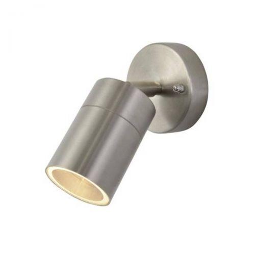 Forum Zinc ZN-26536-SST Leto Single Up/Down Wall Light - Stainless Steel (20566)