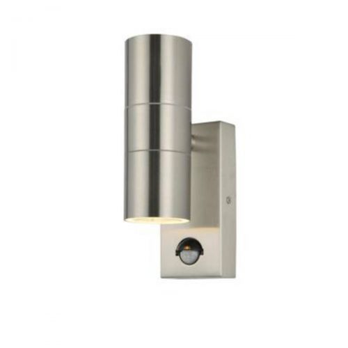 Forum Zinc ZN-29179-SST Leto Twin Up/Down Wall Light - Stainless Steel (20562)