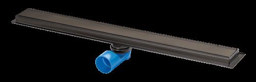 Zwart Premium Line 800mm Channel Drain - Black - 16371