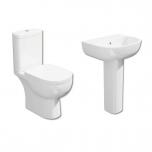 Tilly Modern Toilet & Basin Suite (13824)