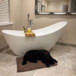 Viktor Benson Elemi Freestanding Slipper Bath