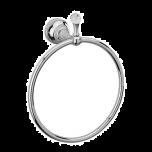 Sagittarius Swarovski Liberty Crystal Towel Ring - Chrome - 17529