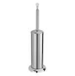 Sagittarius Swarovski Liberty Crystal Covered Toilet Brush & Holder - Chrome - 17537