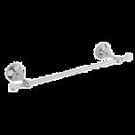 Sagittarius Swarovski Liberty Crystal 30cm Towel Rail - Chrome - 17533