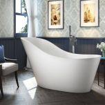 Viktor Benson Geneva Freestanding Slipper Bath  (14077)