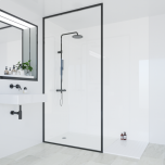Multipanel Classic Collection Natural White 598mm Shower Panel (9612)