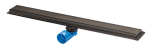 Zwart Premium Line 700mm Channel Drain - Black - 16369