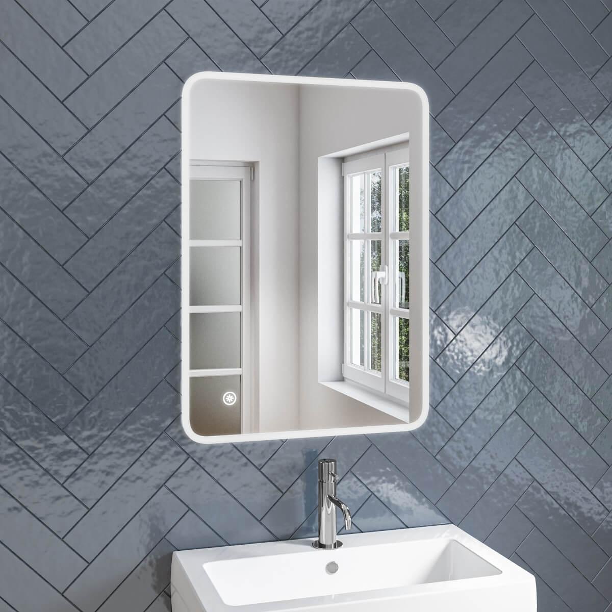 Illuminated Bathroom Mirrors Bathshack Northern Ireland Bathshack